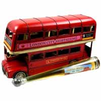 London-Bus mit Scotch Whisky 0816-Geschenke.ch