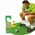 Toiletten Golf Set