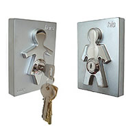 his, here key holder 0816-Geschenke.ch